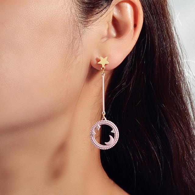 Dames Druppel oorbellen meetkundig Ster Zoet oorbellen Sieraden Blozend Roze Voor Afspraakje Festival