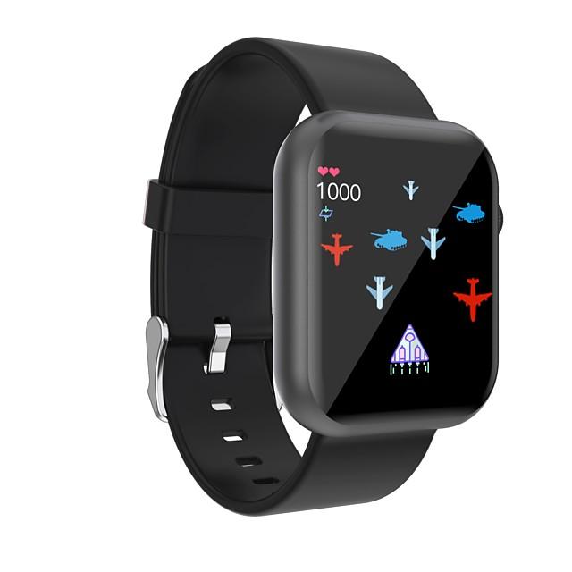 696 R3L Unisex Smart horloge Slimme polsbandjes Bluetooth Aanraakscherm Hartslagmeter Bloeddrukmeting Sportief Informatie Stappenteller Slaaptracker Zoek mijn toestel