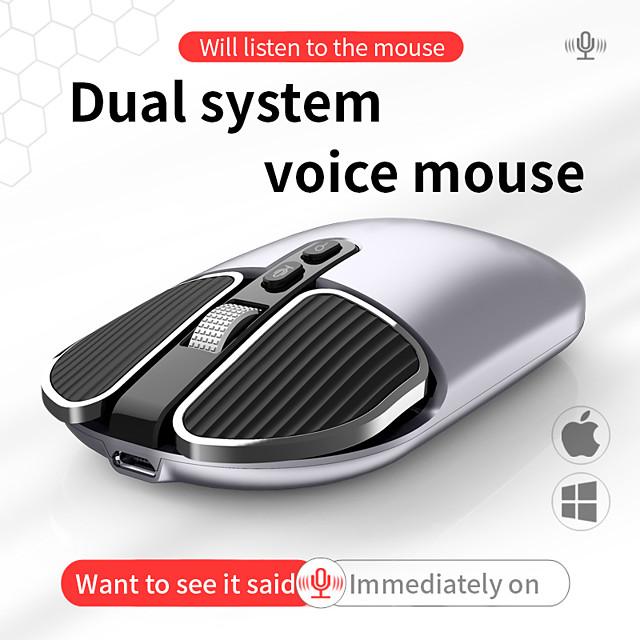 ifeiyo s9 ai voix traduction prise en charge de la souris 120 langues recherche d'entrée vocale sans fil et traduction 2.4g rechargeable 1600 dpi