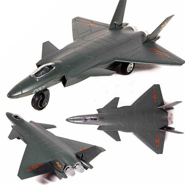 Vliegtuigmodel Vliegtuigspeelgoed Cartoon Muziek en licht Terugtrekvoertuigen Legering Kinderen Volwassenen Allemaal Speeltjes Geschenk