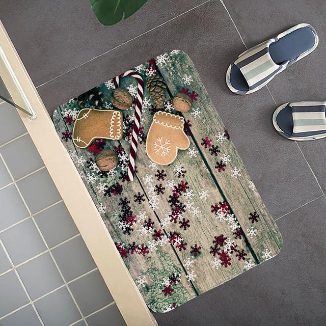 kerstdeurmat boomtapijt kerstdeurmat cadeau hal tapijten en vloerkleden voor slaapkamer woonkamer tapijt keuken badkamer antislip vloermatten