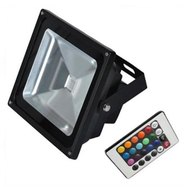 Projecteur extérieur à LED Éclairage extérieur Projecteur Projecteur 10W RVB Lampe de laveuse de mur IP65 Éclairage de jardin étanche AC85-265 V