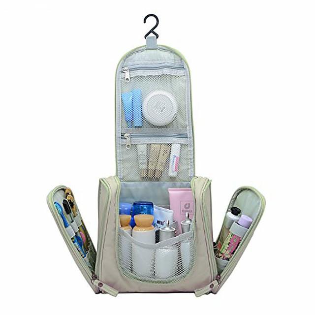 závěsná cestovní toaletní taška pro muže a ženy, přenosná vodotěsná kosmetická taška na organizér, lehká taška na holení dopp kit