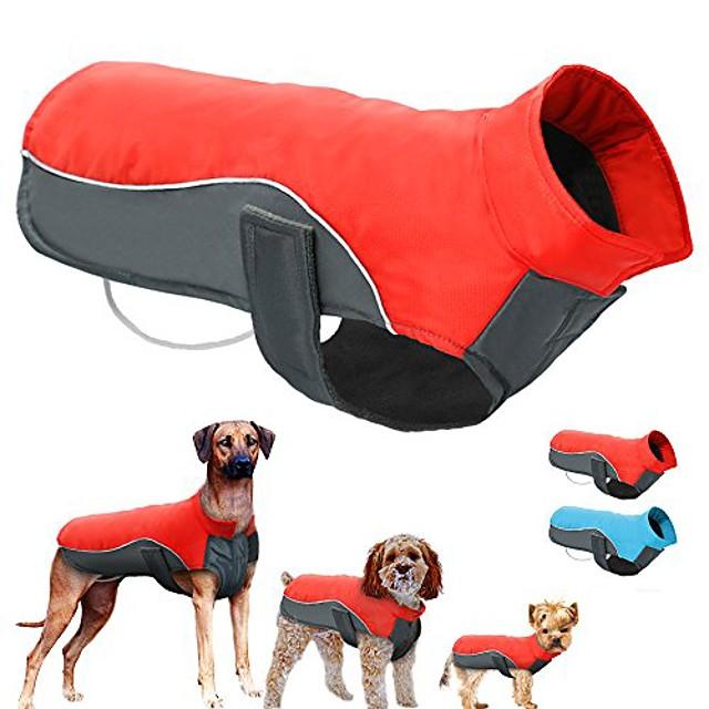 wasserdichter warmer Winter Hundemantel Hundejacke Weste Kleidung Hundekleidung Hundekleidung für kleine mittelgroße Hunde, l