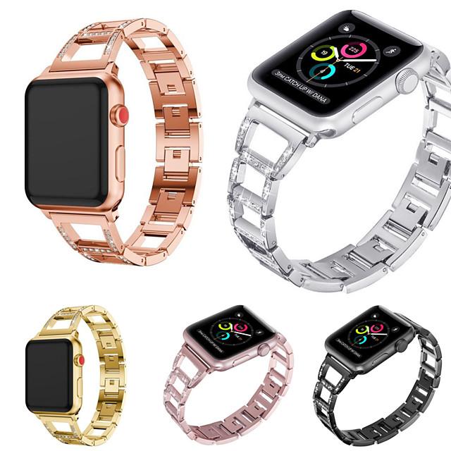 Klockarmband för Apple Watch Series 5/4/3/2/1 Apple Sportband Rostfritt stål Handledsrem