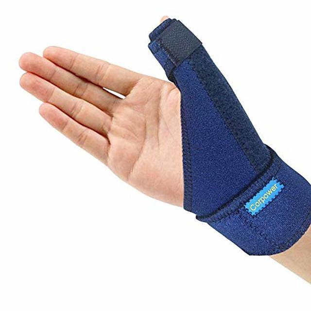 Attelle de pouce de déclenchement - attelle de spica de pouce - stabilisateur de spica de pouce pour la douleur, les entorses, l'arthrite, les tendinites (main droite ou main gauche)