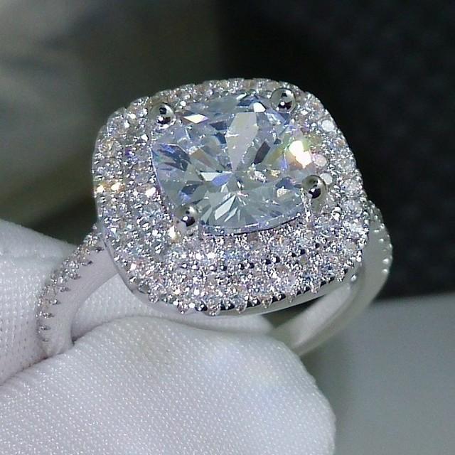 Inel Zirconiu Cubic Geometric Argintiu Alamă Binecuvântat Elegant 1 buc 6 7 8 9 10 / Pentru femei