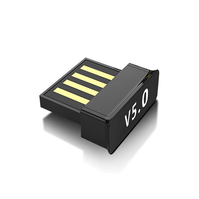 Adattatore 2 in 1 usb bluetooth 5.0 accessori per pc tablet car audio ricevitore musicale tv usb dongle adattatore per auricolari bluetooth