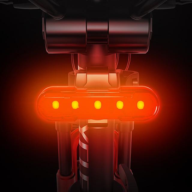 LED Luci bici Luce posteriore per bici LED Bicicletta Ciclismo Ruotabile Anti-polvere Rilascio rapido Litio-polimero 120 lm Batteria ricaricabile Bianco Rosso Blu Campeggio / Escursionismo