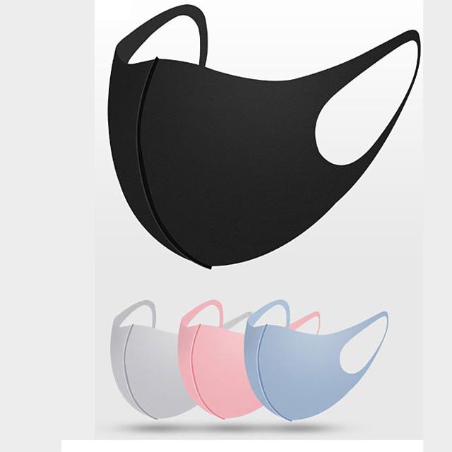 10 pcs masque coton crème solaire masque glace soie masque étoile masque anti-poussière tissu lavable masque