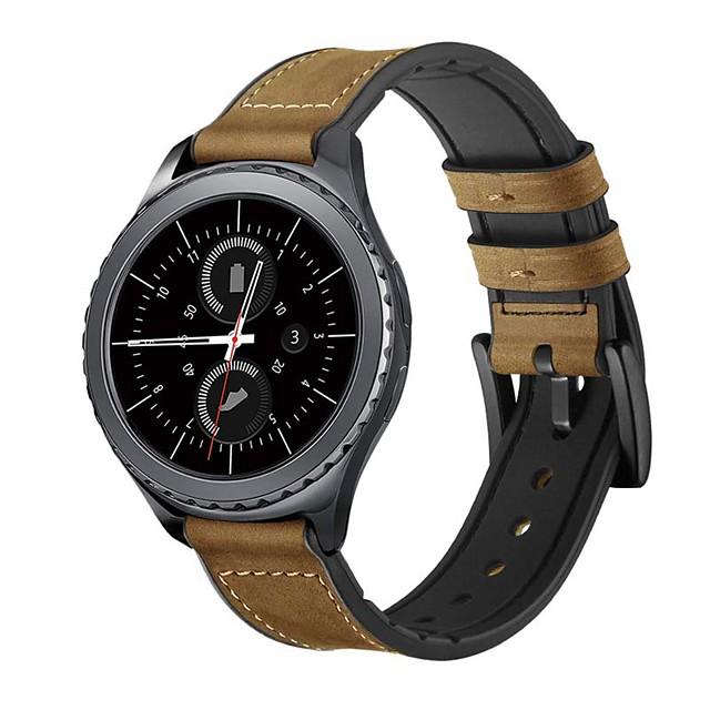 ремешок для часов samsung galaxy watch 46 мм samsung galaxy watch 42 мм samsung galaxy классическая пряжка ремешок из натуральной кожи