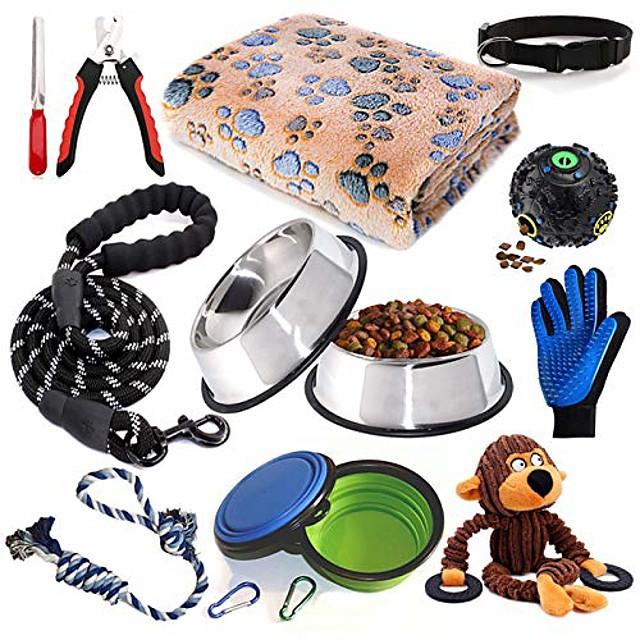 puppy starter kit dog supplies assortments dog bed blankets puppy training supplies