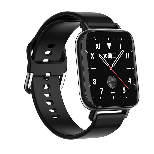 696 M96 Unisex Smart horloge Slimme polsbandjes Bluetooth Aanraakscherm Hartslagmeter Bloeddrukmeting Handsfree bellen Informatie Stopwatch Gespreksherinnering sedentaire Reminder Zoek mijn toestel