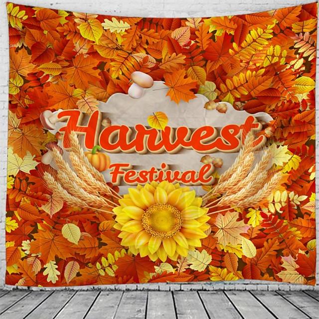 oogst festival vakantie partij wandtapijten art decor deken gordijn picknick tafelkleed opknoping thuis slaapkamer woonkamer slaapzaal decoratie polyester
