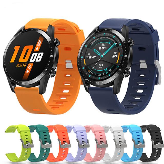 Ремешок для часов для Huawei Watch GT / магия чести huawei Huawei Спортивный ремешок силиконовый Повязка на запястье