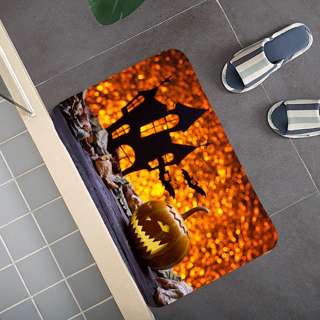 Halloween patroon tapijt deurmat hal tapijten karpetten voor slaapkamer woonkamer tapijt keuken badkamer antislip vloermatten