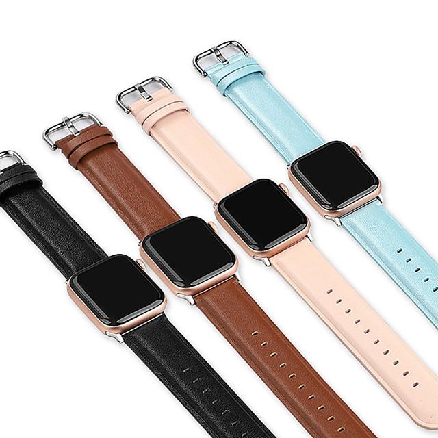 bandă de ceas din piele moale pentru seria Apple Watch 5/4/3/2/1 brățară înlocuibilă brățară brățară brățară 38mm 40mm 42mm 44mm
