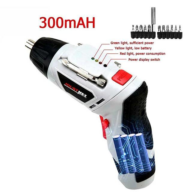ensemble de tournevis électrique sans fil perceuse à main rechargeable domestique