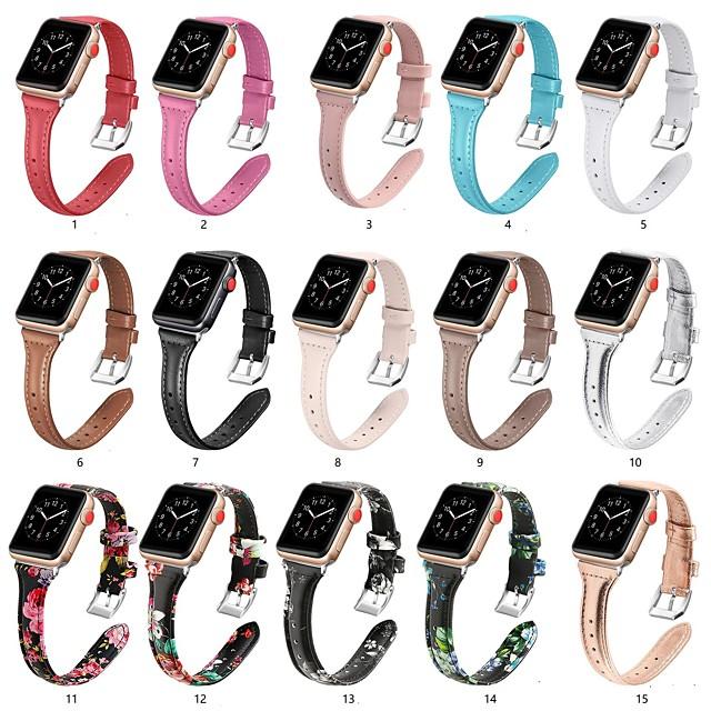 ремешок для часов apple watch series 5/4/3/2/1 apple классическая пряжка ремешок из натуральной кожи на запястье