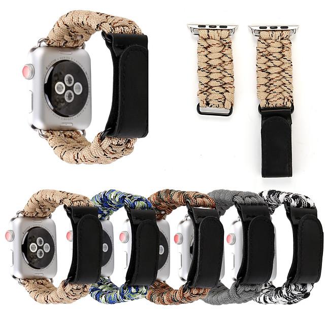 Uhrenarmband für Apple Watch Serie 5/4/3/2/1 Apple Classic Schnalle Stoff Armband