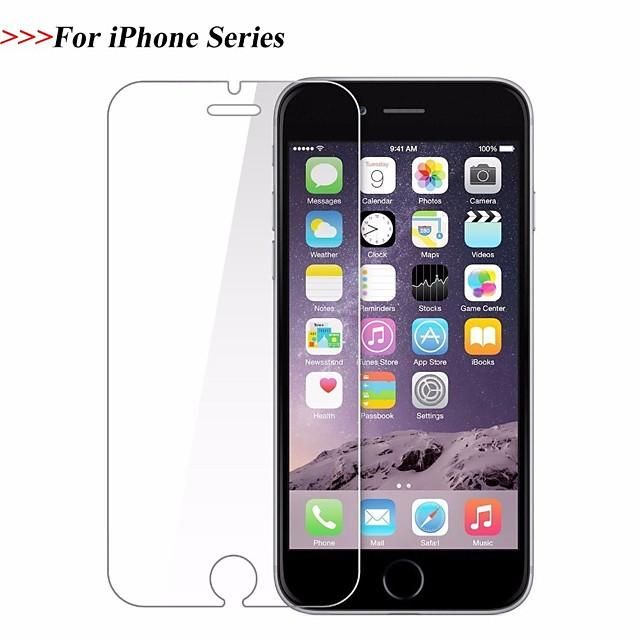 téléphone Protection Ecran Apple Verre Trempé iPhone 12 iPhone 11 iPhone 12 Pro Max iPhone XR iPhone 11 Pro 1 pc 2 pcs 3 pcs Haute Définition (HD) Dureté 9H Antidéflagrant Ecran de Protection Avant