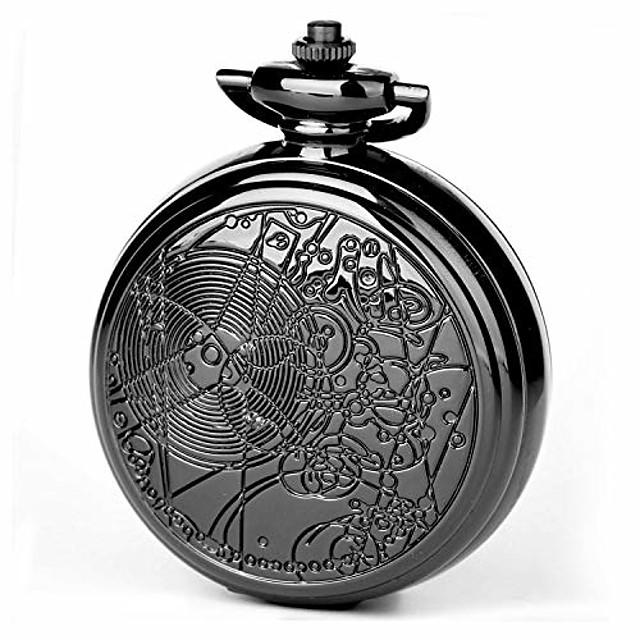 doctor who zakhorloge met kettingkast voor cosplay dr. die 58 mm oversized quartz horloge