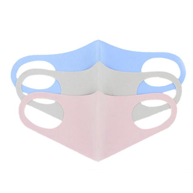 10 pcs masques pour enfants crème solaire respirant et lavable masque facial léger unisexe anti-poussière masque réutilisable