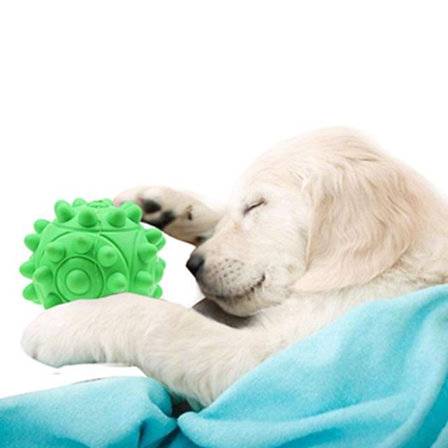 لعب المضغ لعبة تفاعلية علاج المغذية لعبة موزع الطعام كلاب 1PC كرة لعبة حبل التسنين TPR هدية لعبة الحيوانات الأليفة لعب الحيوانات الأليفة