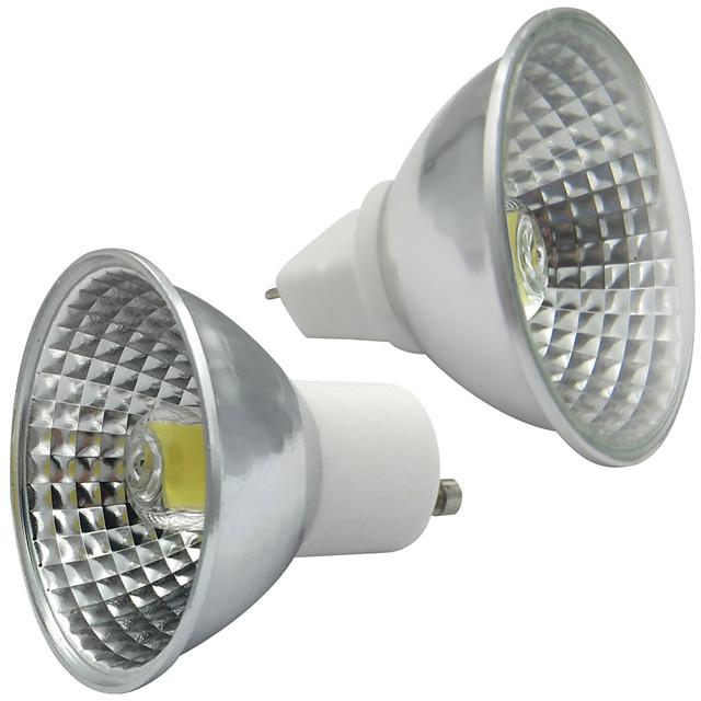 gu10 led gu5.3 dimmable spotlight bulb lamp mr16 1511 cob 110-130v / 220-240v warm white luce del giorno led bianchi lampara spot light 1pc