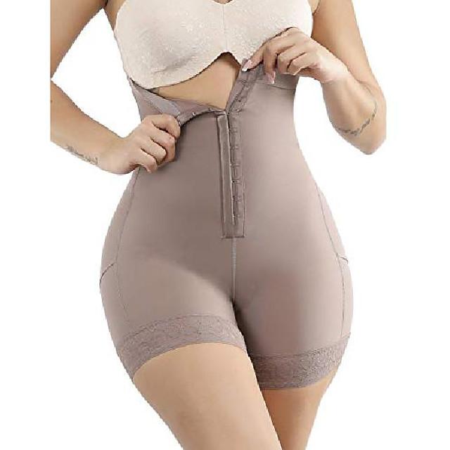 vrouwen shapewear shaper body shaper afslankende bodysuit taille met lange been kanten zoom plus maat s-6xl