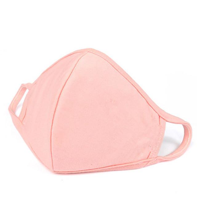 3 pièces masque en coton lavable mince masque tridimensionnel personnalisé hommes et femmes masque anti-poussière de voyage en plein air