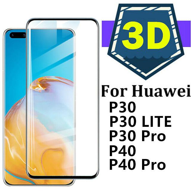 voor glas huawei p40 pro p30 lite gehard glas volledige cover beschermende glas screen protetor voor huawei p40 voor huawei p40 p30 pro glas