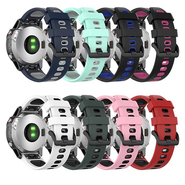 สายนาฬิกาข้อมือซิลิโคนสำหรับ Garmin Fenix 6/6 Pro 5/5 Plus / Approach S60 Quatix 5 smartwatch สายรัดข้อมือ easyfit ผู้เบิกทาง 945/935