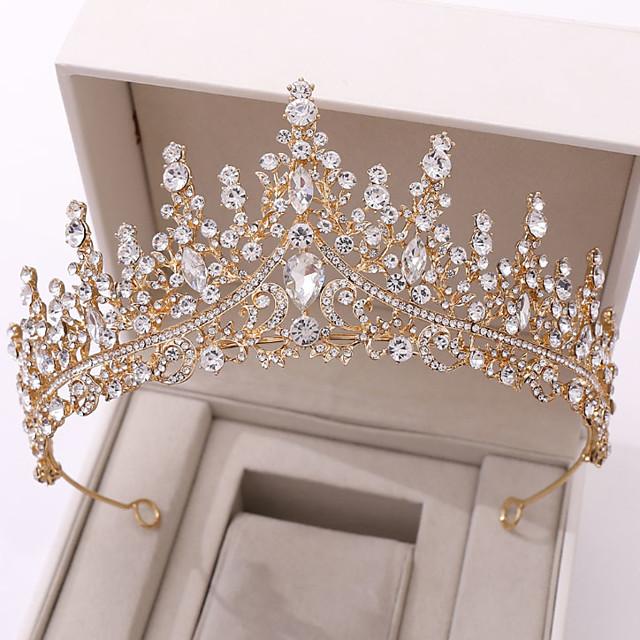 Pentru femei Pentru Nuntă Petrecere / Seară Mascaradă Serie de Bijuterii Romantic Series pava Diamant sintetic Aliaj Argintiu Auriu Albastru piscină 1 buc