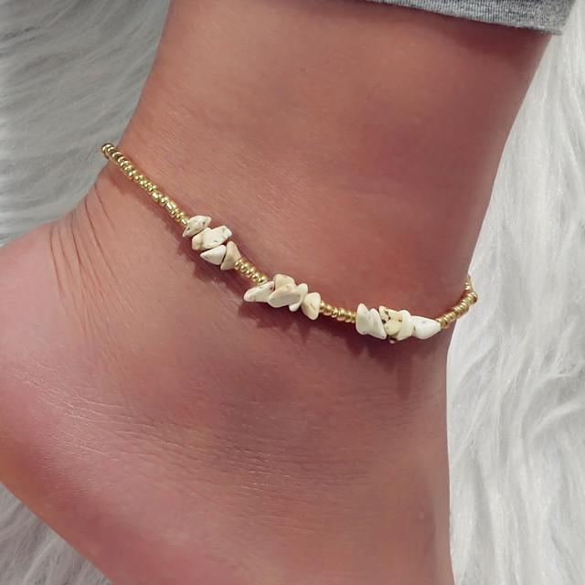خلخال عطلة ستايل غجري بوهو نسائي مجوهرات الجسم من أجل شاطئ بيكيني سبيكة ذهبي