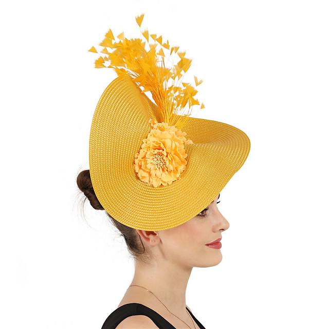 dronning Elizabeth Audrey Hepburn Kjoler Retro / vintage 1950-tallet 1920s Kjoler A-Line Dress Kentucky Derby Hat Pillbox Hat Dame Kostume hatt Hvit / Svart / Lilla Vintage Cosplay Fest Skoleball
