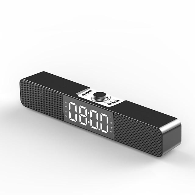 Accueil alarme ordinateur de bureau audio multimédia sans fil bluetooth subwoofer haut-parleur support fm tfcard bass box