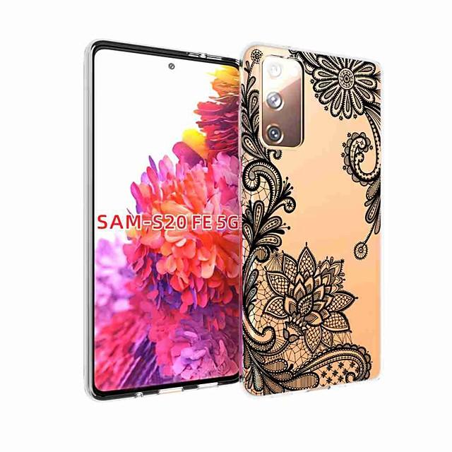 tok Για Samsung Galaxy S20 Plus / S20 Ultra / S20 Ανθεκτική σε πτώσεις / Με σχέδια Πίσω Κάλυμμα Λουλούδι TPU