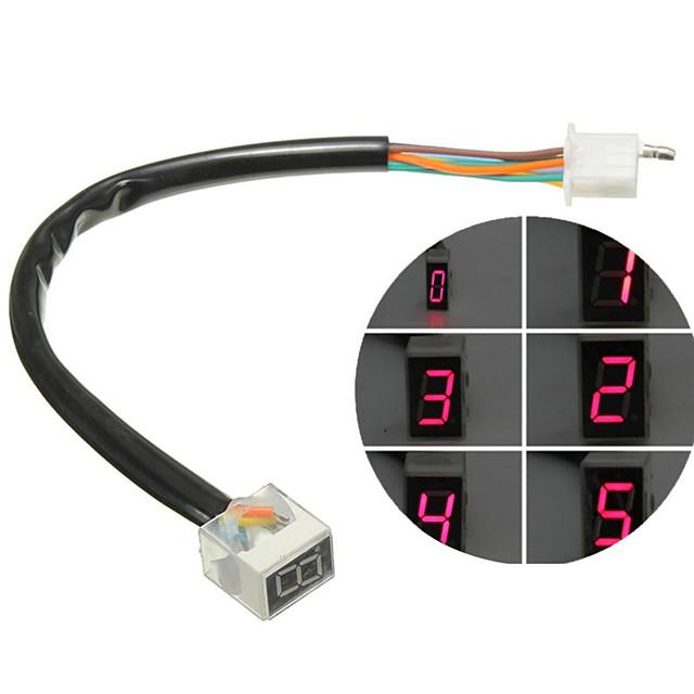 digitális kijelző sebességmérő kijelző motorkerékpár kijelző váltókar érzékelő vezetett univerzális digitális sebességjelző motorkerékpár