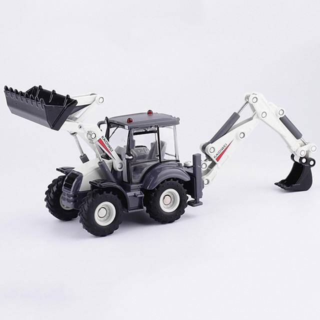 01:50 Legering Graafmachine Speelgoedtrucks & Constructievoertuigen Terugtrekvoertuigen Simulatie Muziek en licht Allemaal Kinderen Volwassenen Car Toys