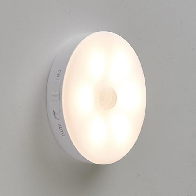 012 petite table de chevet lampe à induction de nuit intelligente petite lampe à induction de nuit pour le contrôle de la lumière LED petite induction