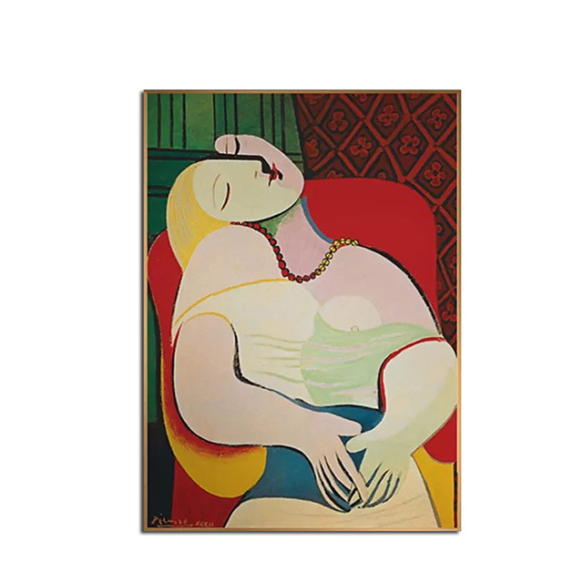 Hang-Malowane obraz olejny Ręcznie malowane Pionowe Abstrakcja Portret abstrakcyjny Nowoczesne Nowoczesny Zwinięte płótna
