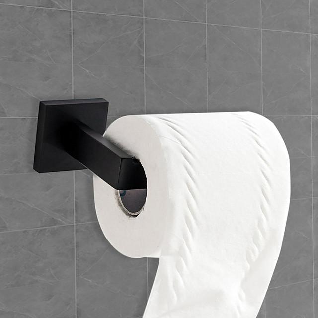 set de accesorii pentru baie / suport de hârtie igienică design premium / răcoros / multifuncțional contemporan / antic oțel inox 1 buc - montat pe perete din baie