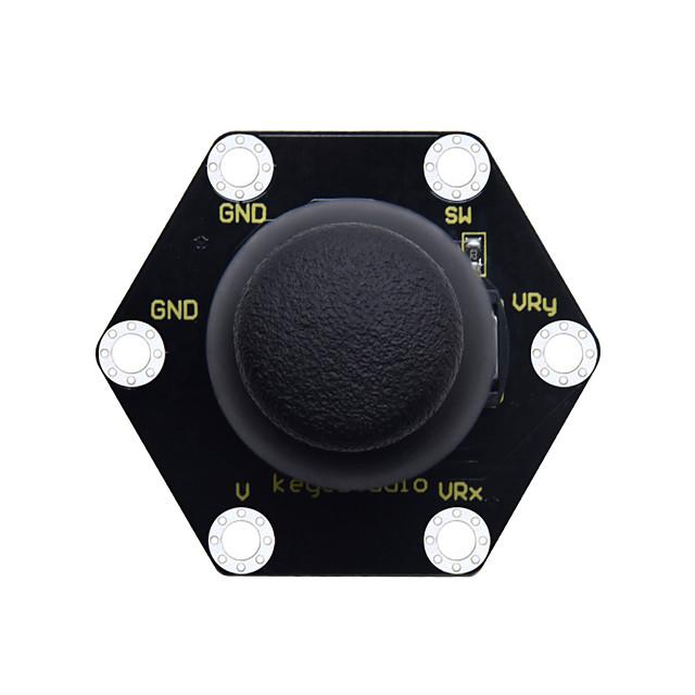 keyestudio micro bit honeycomb ps2 модуль джойстика (черный и экологичный)
