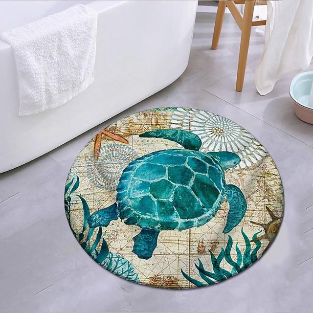 onderwaterwereld seaturtle stijl tapijt deurmat slaapkamer woonkamer tapijt studeerkamer tapijt keuken badkamer antislip mat