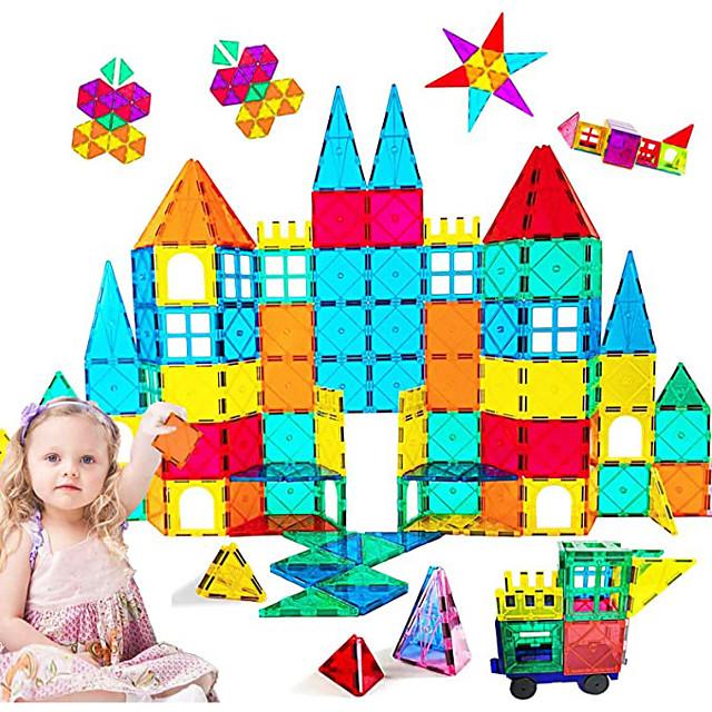 Magnetische tegels Bouwblokken 3D magnetische blokken Bouwstenen 73 pcs STEAM speelgoed geometrisch patroon Leerzaam Speelgoed bouwen Allemaal Speeltjes Geschenk / Kinderen