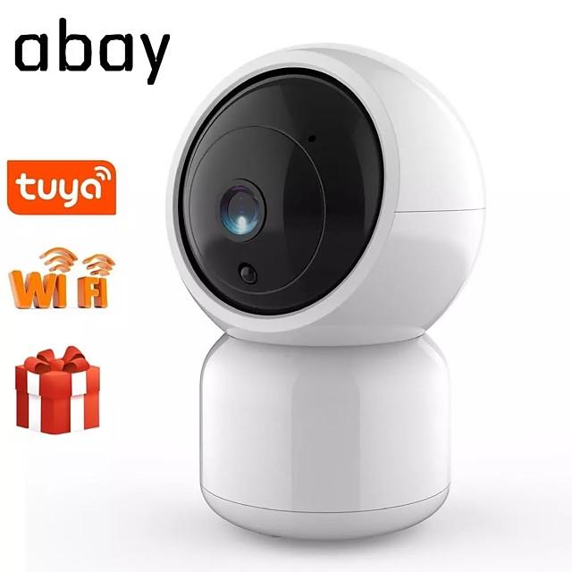 1080p تويا كاميرا مراقبة أمن الوطن سحابة كاميرا IP لاسلكية واي فاي رؤية CCTV ليلة مراقبة الطفل اتجاهين الصوت