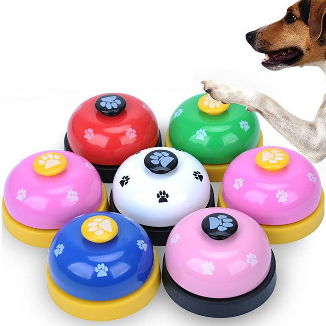 تدريب الكلاب صفارة الكرة بيل Dog كلاب قطط المحمول مدرب أدوات تصحيح السلوك للحيوانات الأليفة