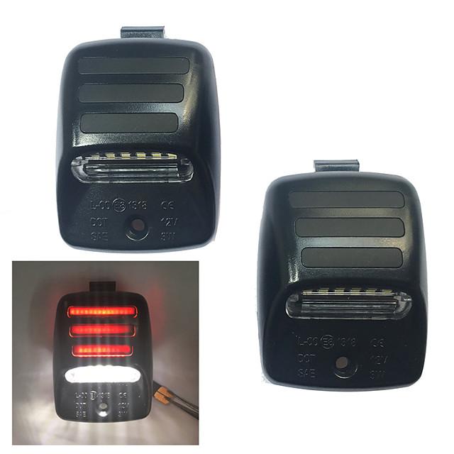 2ks 3W 12v 6500k plné LED poznávací světlo pro 2005-2015 Toyota Tacoma 2000-2013 Toyota Tundra