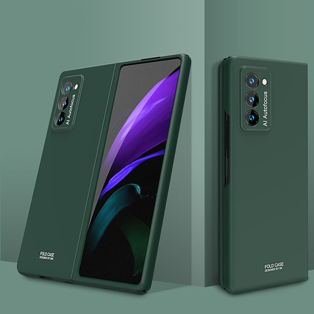 telefono Custodia Per Samsung Galaxy Integrale Galaxy Z Fold 2 Resistente agli urti Ultra sottile Tinta unica TPU